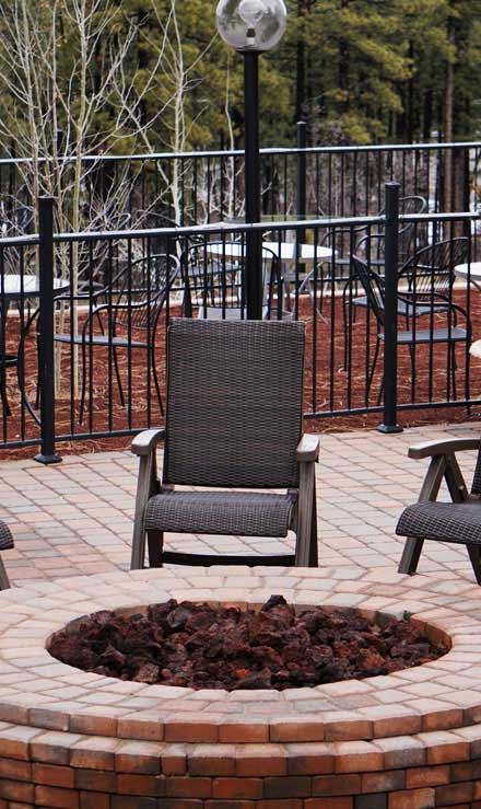 Little River Landscape & Design Outdoor Fire Pits